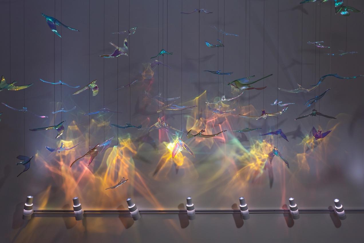 Art Glass Installations Lumicrest High Cri Led Lighting
